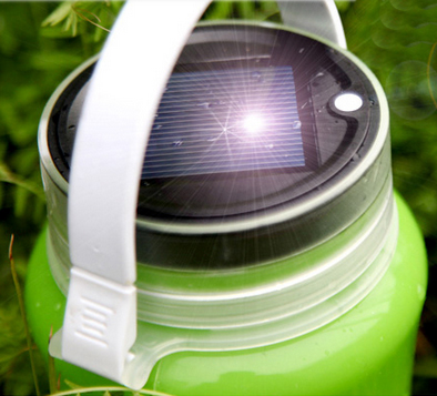 Solar lantern solar panel