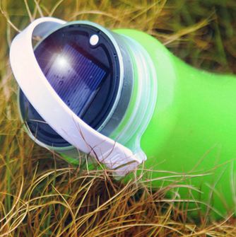 Solar lantern top